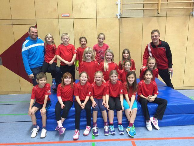 Foto Leichtathletikgruppe